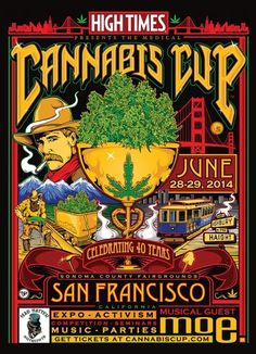 Cannabis Cup San Francisco 2014 with DJ SHORT, KYLE KUSHMAN AND SUBCOOL420 #cannabiscup