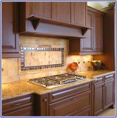 Tiling A Kitchen Backsplash - http://truflavor.net/tiling-a-kitchen-backsplash/