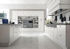 Pedini London, Vintage Kitchen Range, Italian Designer Kitchens, Painted Kitchen Doors