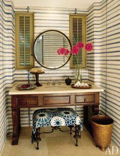 Striped Decor : Architectural Digest