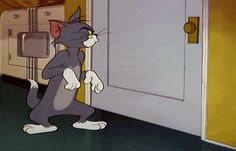 Tom Cat from Tom and Jerry Tom And Jerry Funny, Tom Y Jerry, Tom And Jerry Cartoon, Cartoon Gifs, Cartoon Movies, Cute Cartoon Wallpapers, Classic Cartoon Characters, Classic Cartoons, Tio Tom