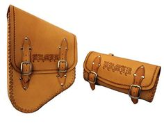 Custom Leather Motorcycle Accessories - Roberti Customs