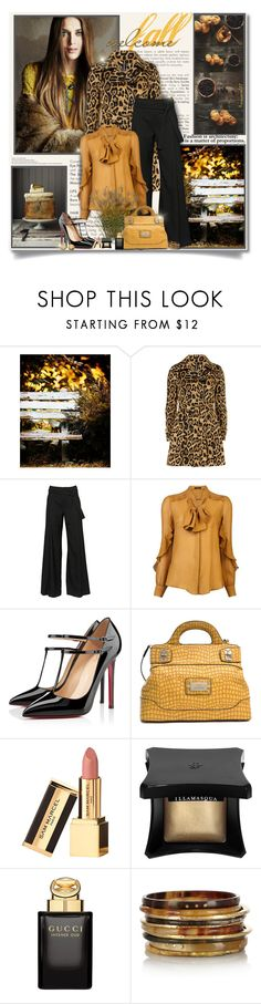 """""""Welcome fall..."""" by nannerl27forever ❤ liked on Polyvore featuring Dorothy Perkins, A.F. Vandevorst, Etro, Christian Louboutin, Illamasqua, Gucci, Ashley Pittman and Chanel"""