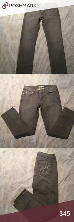 Privacy jeans Privacy for the people jeans with embroidered stitched wings on back pockets. Excellent condition worn only once. privacy wear  Jeans Straight Leg