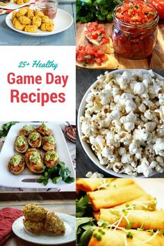 I am a huge sports fan. Which means I am always looking for yummy recipes to have at my next tailgating party. Check out these 25+ healthy game day recipes for your next sporting event!
