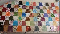 : Tumbling Along! Tumbler Quilt, Bonnie Hunter, Hexagons, Quilt Making, Tumblers, Quilting, Scrap, Challenge, Blanket