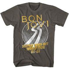 Bon Jovi Shirts, Bed Of Roses, Concert Shirts, Rock Concert, Slippery When Wet, Rock T Shirts, Band Shirts, Raglan Shirts, V Neck Tank Top