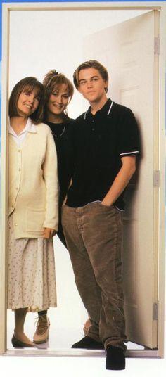 "Leo,Meryl & Diane in ""Marvin's Room"" Meryl Streep, Diane Keaton Young, Leonardo Dicapro, Young Leonardo Dicaprio, Actor Studio, Celebs, Celebrities, Cute Guys, Celebrity Photos"
