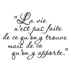 Jusqu'a La Tolérance – /Words & Quotes in French Motivational Quotes For Life, Positive Quotes, Life Quotes, Inspirational Quotes, French Words, French Quotes, Positive Mind, Positive Attitude, Visual Statements