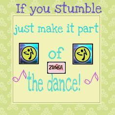 The beauty of zumba...everyone has their own unique style that is accepted!