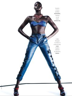 IMG 5456 Elle France May 2014 | Grace Bol by Alex Franco  [Editorial]
