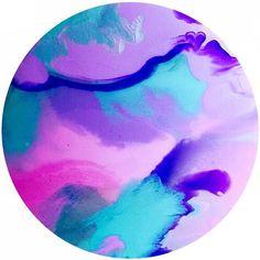 Resin Art 60cm round artwork by HelloSundayDesigns on Etsy