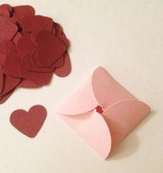 Little Envelope's For Confetti Cards Scrapbooks by MonAmiePaperie, $3.44