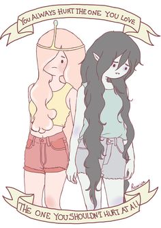 This is kinda sad ||| Bubbline /// Marceline and Princess Bubblegum /// Adventure Time |||