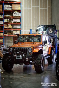Oh man! What my jeep will look like when I'm done with it. :)