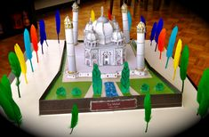 how to make taj mahal model for school project School Projects, Art Projects, Projects To Try, Historical Monuments, Taj Mahal, Model, How To Make, India, Image