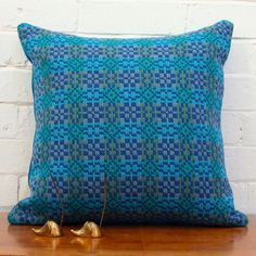 Beautiful colours Wool Pillows, Throw Pillows, Welsh Gifts, Welsh Blanket, In Remembrance Of Me, Weaving Patterns, Scatter Cushions, Room Accessories, Tapestry