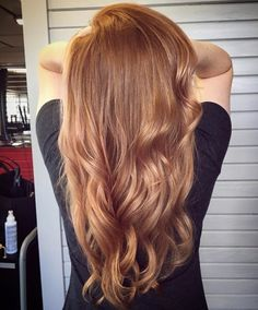 What a Hairstyle this is very beautiful hairstyles with golden brown hair color