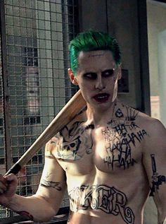 "The Joker - I would have rather seen a movie about the Joker than the piece of shit known as ""Suicide Squad""."