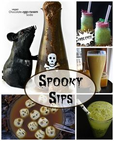 17 Spook-tacular, Healthy Halloween Treats, Snacks and Beverages   Two Healthy Kitchens