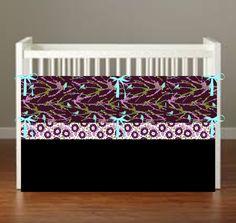 Avery Sparrow Crib Bedding Bird Nursery Decor