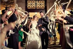 Wedding Wands streamers