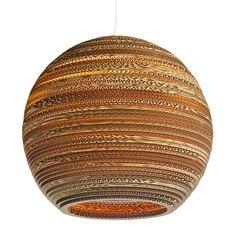 Graypants MOON hanglamp kopen? Bestel bij Fonq.nl  Lamp van gerecycled karton