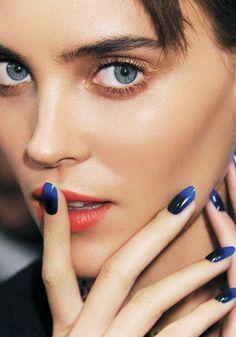 Ombre manicure con smalti CND  www.cndsmalti.it Twitter: @CNDItalia