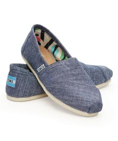 Look at this Blue Chambray Classics on #zulily today!