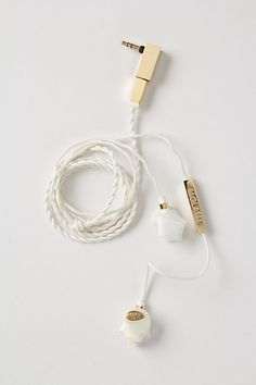 Stingray Earbuds from Anthropologie -- Unique gifts that meet all of my Christmas gifting needs! love, love, love these!