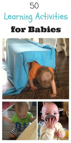 There are so many fun learning activities for babies here. This site is so helpful & has so many great learning ideas.