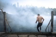 """Head out on the perfect weekend winter getaway. Check out story, """"You Need to Visit Idaho's Burgdorf Hot Springs This Winter."""" 📷 Tag your friends and press. Oh The Places You'll Go, Places To Travel, Places To Visit, Idaho Hot Springs, Mccall Idaho, Vacation Destinations, Dream Vacations, Hotels And Resorts, Luxury Hotels"""