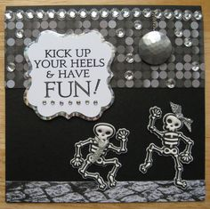 Halloween Cards, Have Fun, Paper, House, Haus, Homes, Home