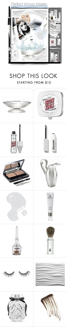 """Perfect brows please"" by yvonne1406 ❤ liked on Polyvore featuring beauty, Benefit, L'Oréal Paris, Illamasqua, Borghese, Oxford Brush Company, Couture Colour, tarte, Victoria's Secret and Old Navy"