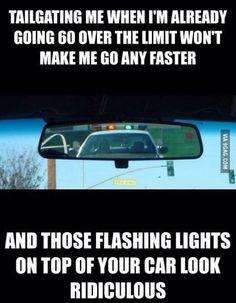 Funny cops humor from 9gag #police #speeding #cops