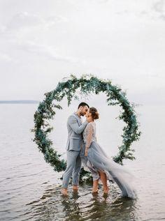 Calming Baltic Sea Wedding Inspiration - photo by Muravnik Photography http://ruffledblog.com/calming-baltic-sea-wedding-inspiration