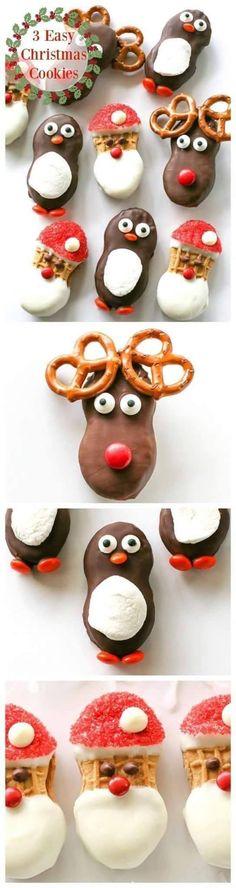Christmas  Santa & reindeer