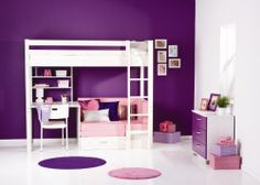 Thuka Trendy Girl High sleeper Bedroom Set | Wayfair UK