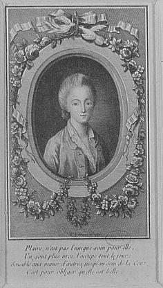 La Comtesse du Barry, Favorite de Louis XV