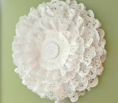 TONS of things you can do with doilies