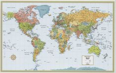 Free World Map | Thank you readers for your overwhelming support from around the world!