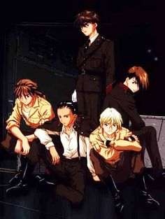 Gundam Wing ~~ By modern standards, this is Old School anime. I might create a group board for that. Anyone interested?