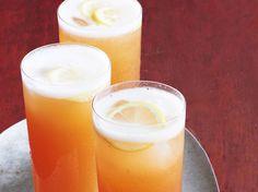 Sparkling Peach Tea recipe from Geoffrey Zakarian via Food Network