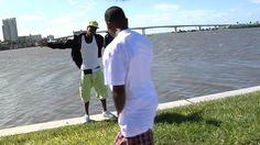 "Florida rap artist ""Presto Flo"" slips off of seawall during photo shoot."
