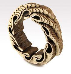 Anthony ROUSSEL/ Wood Bracelet