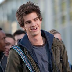 andrew garfield the single most perfect being ever created and bonus* hes SPIDERMAN