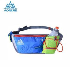 c9b6ec6cab2 AONIJIE Running Heuptas Outdoor Lichtgewicht Hydration Belt Waterfles Hip  Bag Handy Sports Hiking Racing Fitness Waist