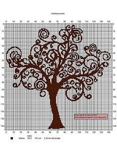 tree--I totally love this . . . it's giving me great ideas just pinning it!