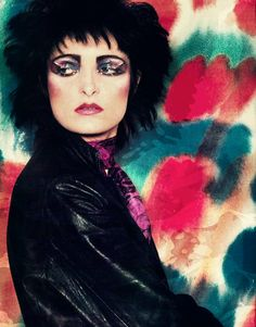 Siouxsie Sioux - 80s inspiration for CATs Vintage - 1980s style - fashion - icon