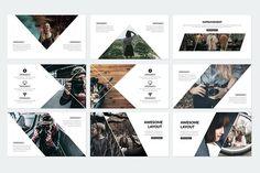 Modern Powerpoint Template by binangkit on Web Design, Chart Design, Book Design, Brochure Design Layouts, Layout Design, Design Presentation, Presentation Folder, Free Printable Business Cards, Simple Powerpoint Templates